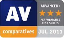 AV-comparatives July 2011 Advance +