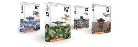 K7 2012 antivirus products