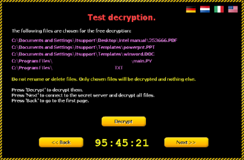 CTB_Locker_Test_Decrypt_Files